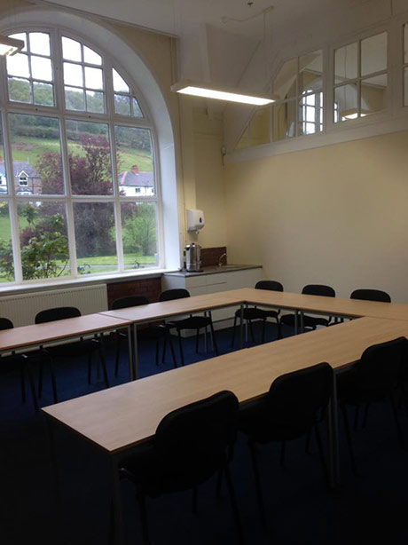 Classroom at the new R3SAR premises
