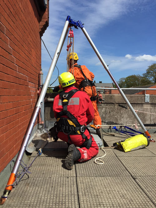 Confined Space Working and Rescue Training